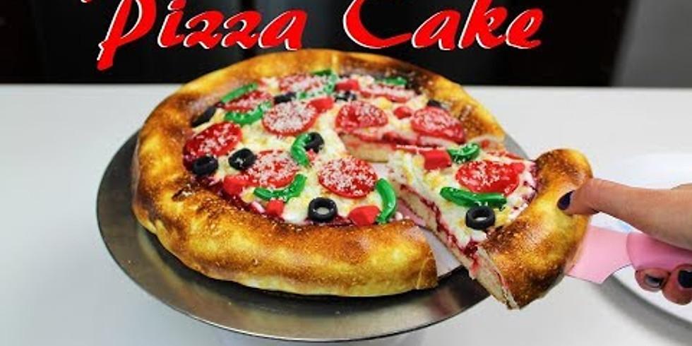 3d Pizza Cake