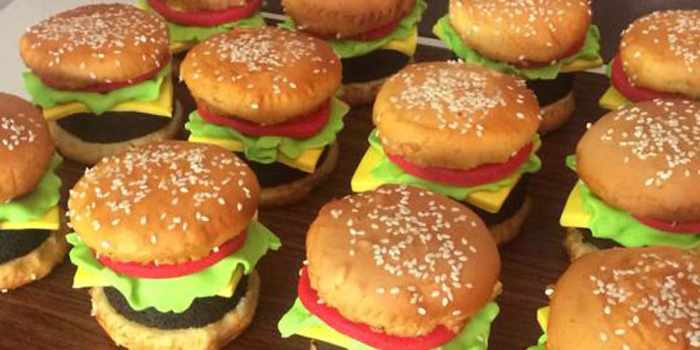 Hamburger Cupcakes *Great Family Activity*