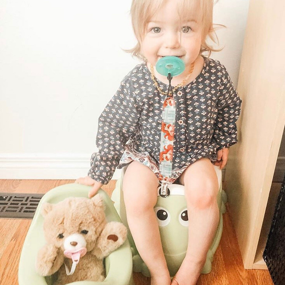 zero waste potty training. eco friendly potty training