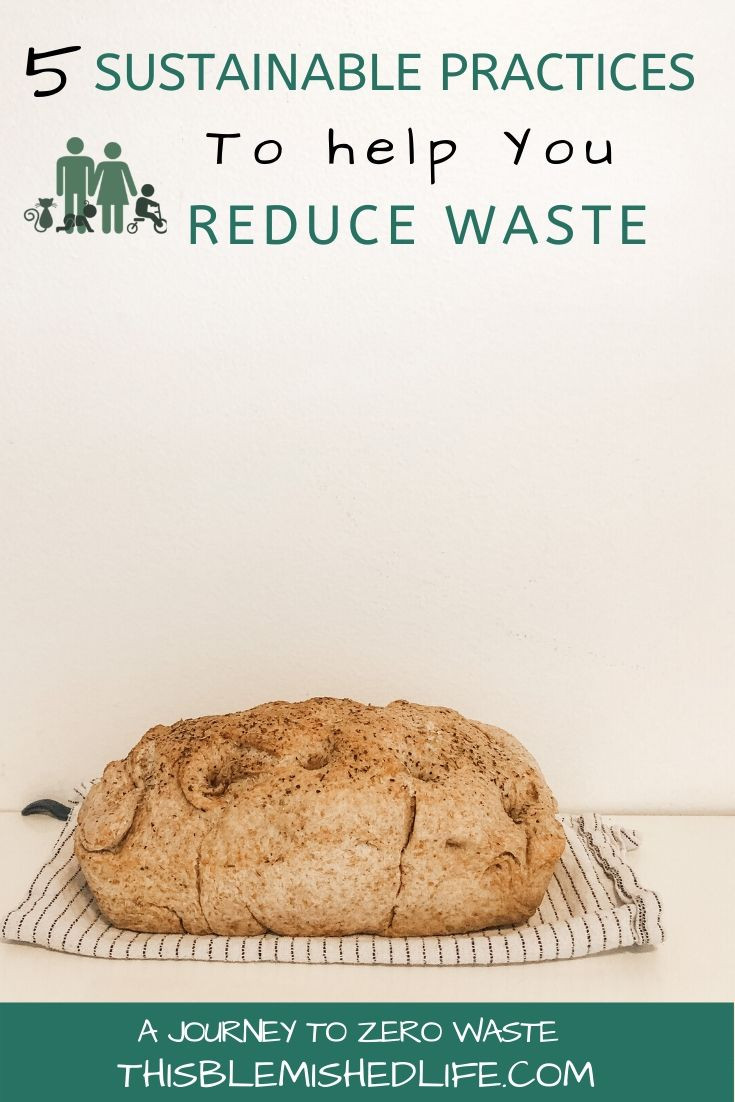 5 sustainable practices to help reduce waste