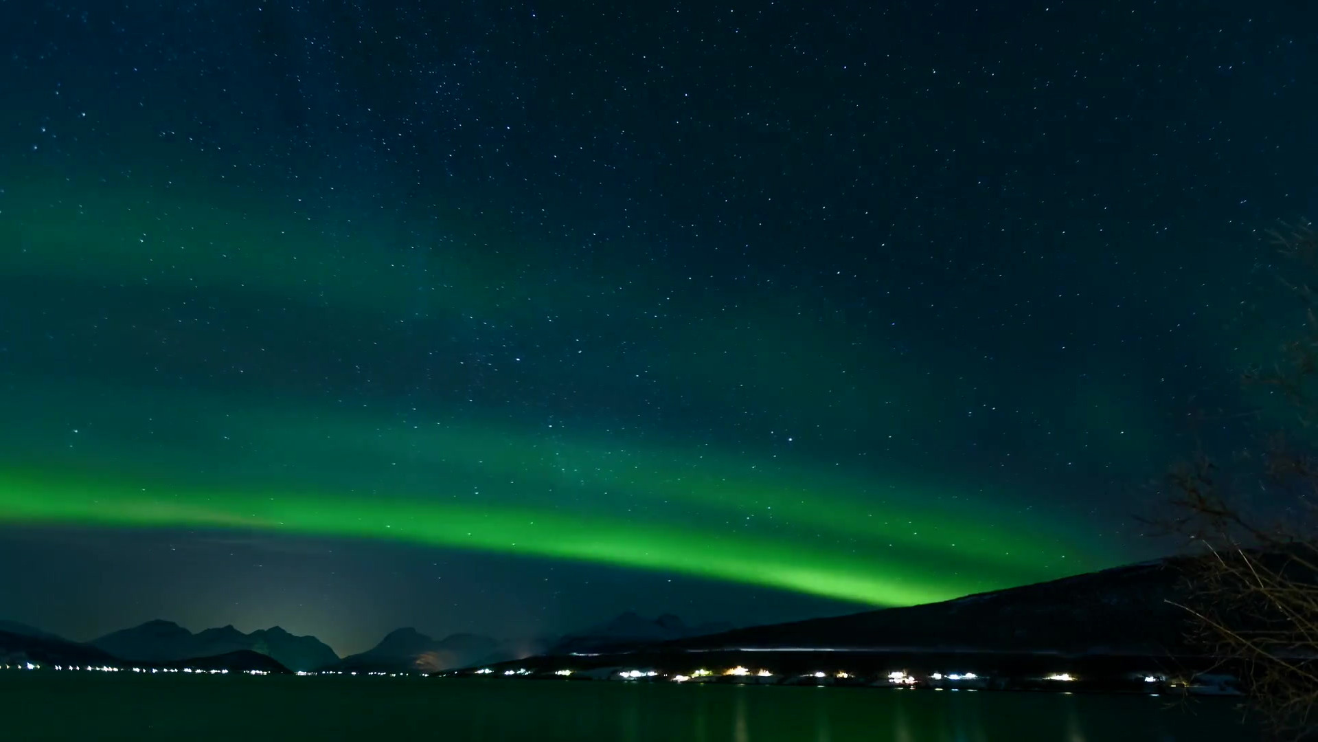 Time Lapse Video Of Aurora Borealis.mp4