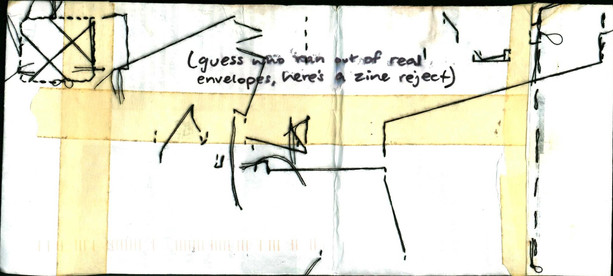 envelope from a friend whose voice i've still never heard (2013)