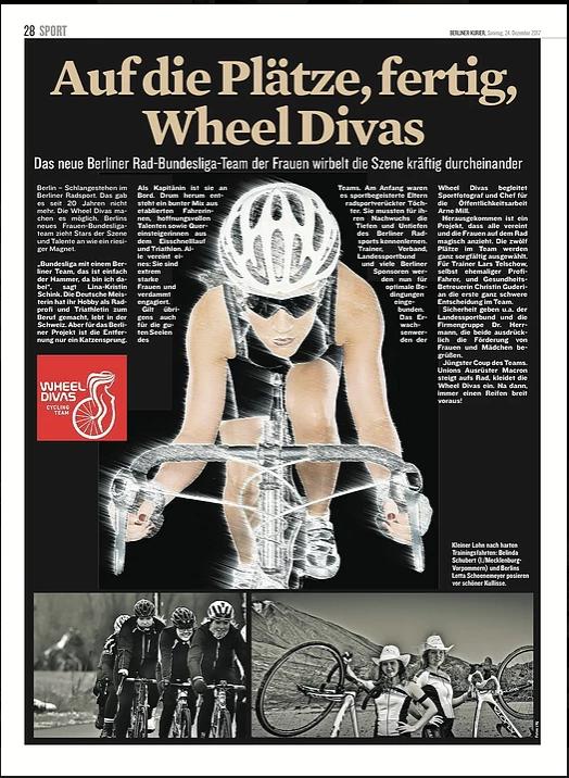 """""""Auf die Plätze, fertig, Wheel Divas"""