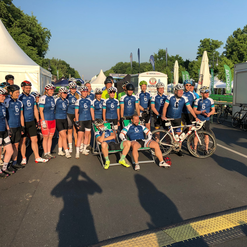 Velothon Berlin 2018 - Team Sixday Berlin