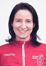 Susen Frank    Sportlerbetreuung  Athletensprecherin  Fördermittelaquise  Wheel Divas