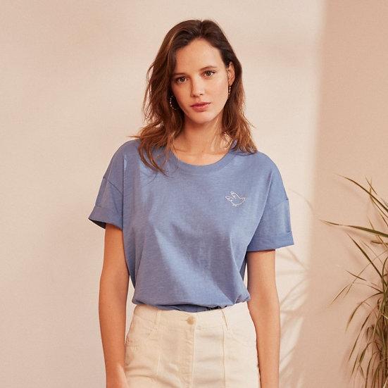 JIZATO - t-shirt DES PETITS HAUTS