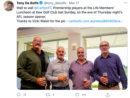 CFC Life Member Luncheon Image on Twitter