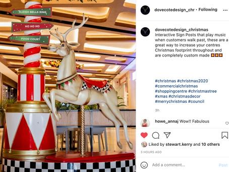 Dovecote Design Commercial Christmas Decorators Social Media Campaign