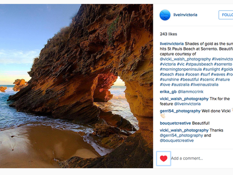 Instagram features by Live In Victoria and Sorrento Village