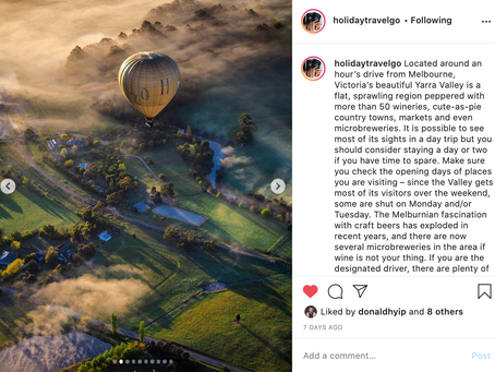 Instagram feature by Holiday Travel Go