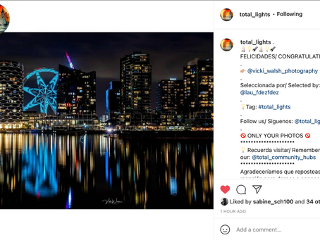 Instagram feature by Total Lights