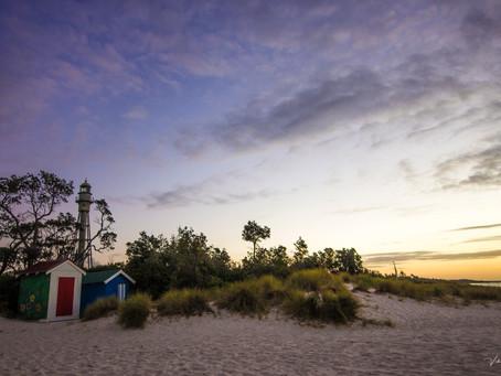 Sunset at McCrae Beach