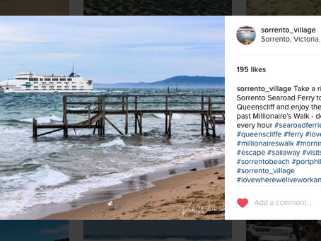 Instagram feature by Sorrento Village