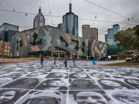 Inside Out Project at Fed Square