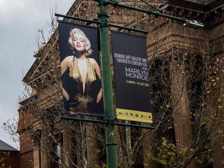 Marilyn Monroe Exhibition at Bendigo Art Gallery