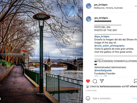Instagram feature by GW Bridges