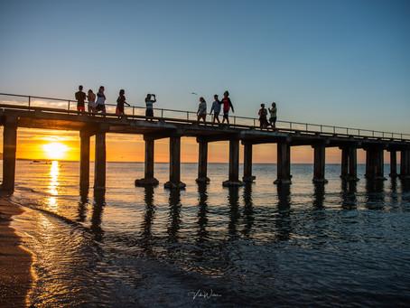 Dromana Pier Sunset