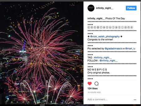 Instagram feature by Infinity Night