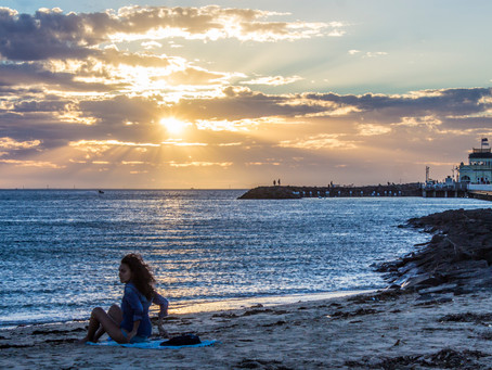 StKilda Beach and Pier Sunset shoot