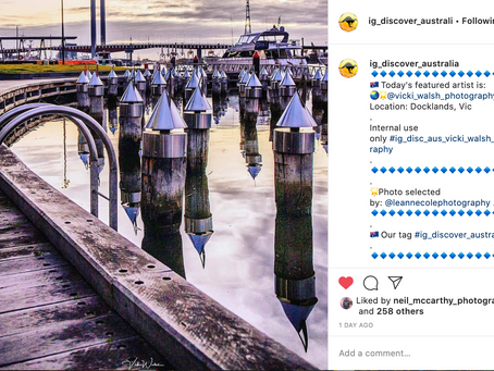 Instagram feature by IG Discover Australia