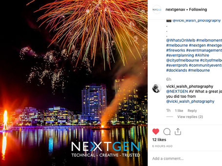 Instagram feature by NEXTGEN AV