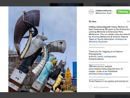 Instagram feature by Melbourne Tourist Guide