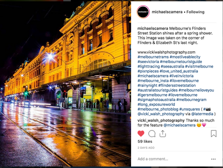 Instagram feature by Michaels Camera