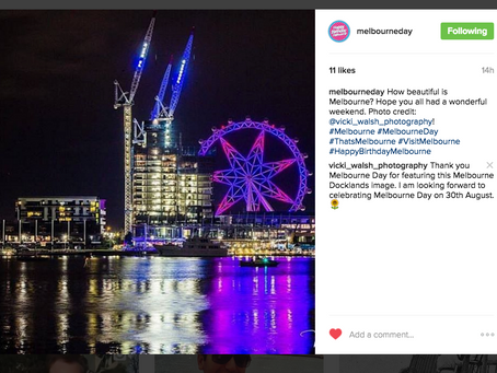 Instagram feature by Melbourne Day