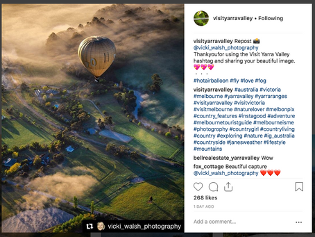 Instagram features by Melbourne Photo Blog, Visit Yarra Valley & Australia Tourist Guides