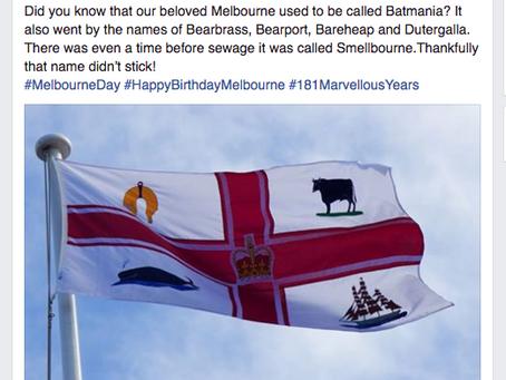 Melbourne Day Social Media Promotion