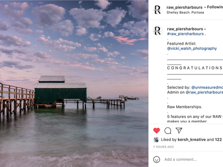 Instagram feature by Raw Piers Harbours