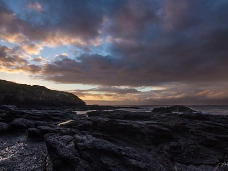 Sunrise at Flinders Blowhole