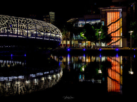 Webb Bridge and Melbourne Docklands