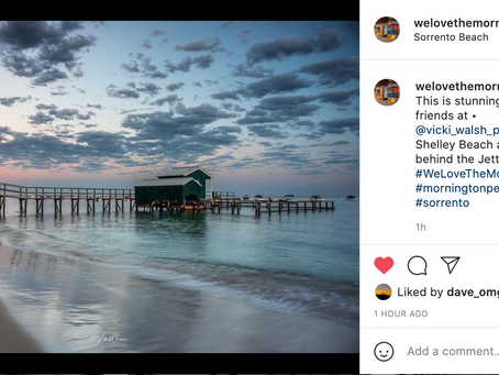 Instagram features by We Love the Mornington Peninsula & Raw Piers Harbours