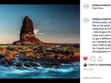 Instagram/Facebook features:  Melbourne Tourist Guide & Mornington Peninsula Photography Excursions