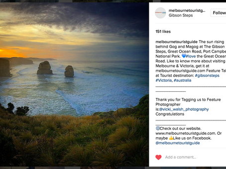 Instagram feature by Melbourne Tourist Guide, Australia Tourist Guides & Pocket Australia