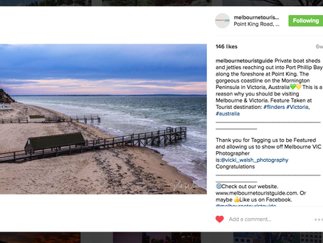 Instagram feature by Melbourne Tourist Guide.