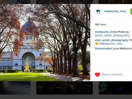 Instagram features by  Melbourne_Insta & Melbourne Tourist Guide