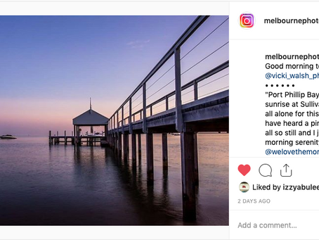 Instagram feature by Melbourne Photography Excursions
