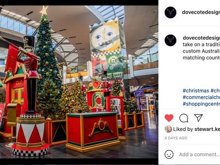Dovecote Design Commercial Christmas Decorators Social Media