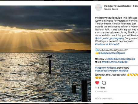 Instagram features by Melbourne Tourist Guide, Loves United Australia & Unsquares