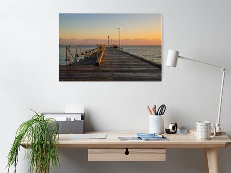 Rosebud Pier, Mornington Peninsula   - Poster Purchased