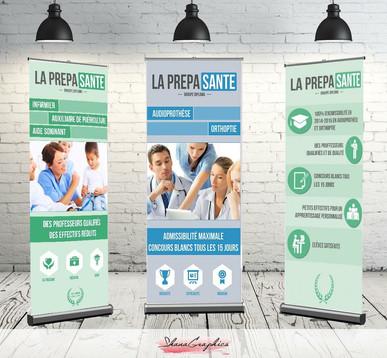 Création et conception des supports print de Diploma Prepa