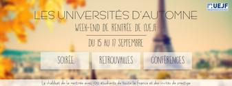 Création et élaboration d'une bannière Facebook pour un evènement privé de l'UEJF