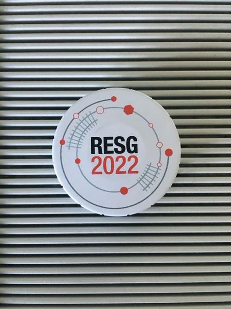 Création et conception d'un logotype pour le service interne RESG du groupe Société Générale et déclinaison sur goodies
