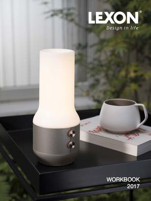 Conception d'un catalogue produit pour Lexon Design