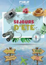 Création, élaboration et mise en page d'une brochure pour l'UEJF