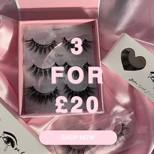 3 FOR £20