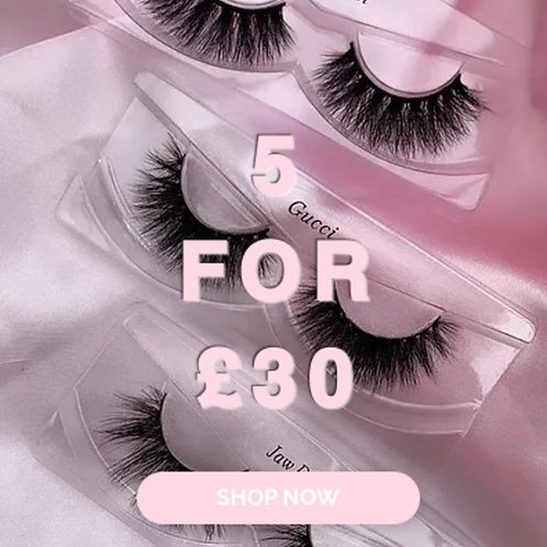 5 FOR £30