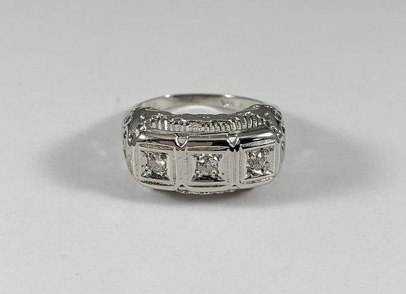Art Deco Style Diamond Ring